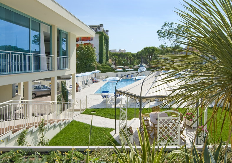 Giardino - Hotel Bolivar, Jesolo Venezia